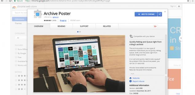 Photo of Archive Poster: Extensión de Chrome que mina criptomonedas sin que el usuario lo sepa