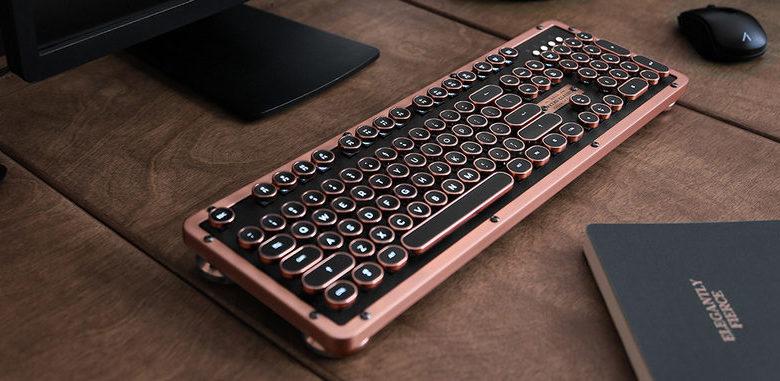Photo of AZIO Retro Classic Keyboard, Un teclado bluetooth con estilo retro