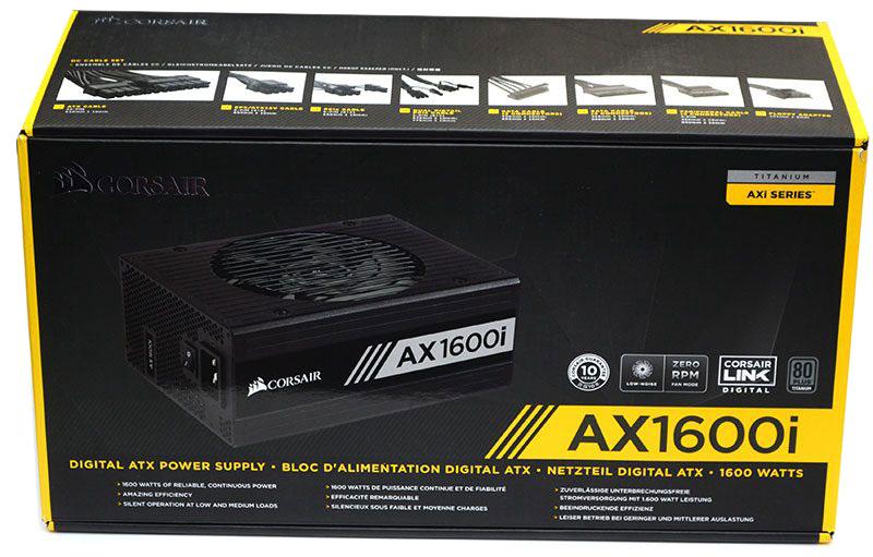 CORSAIR AX1600i Titanium