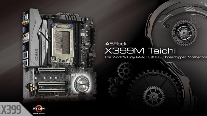 Características ASRock X399M Taichi