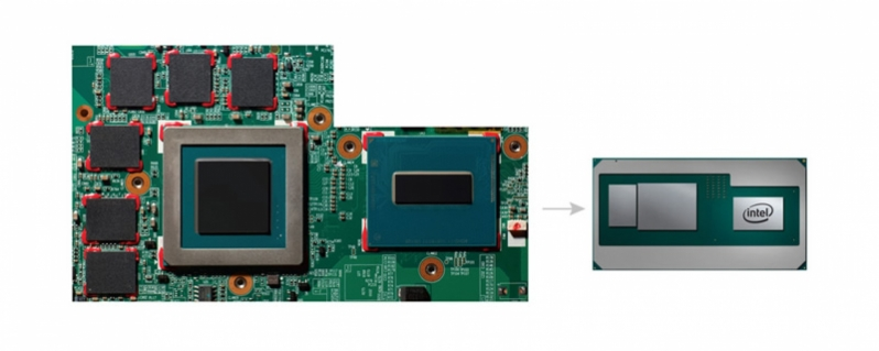 Características del nuevo Core i7 8809G