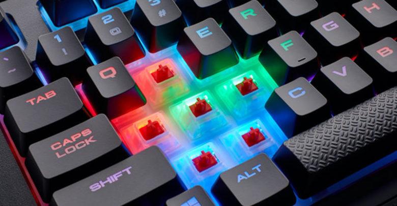 Photo of Nuevo teclado Corsair K68 RGB con Cherry MX Red y resistente a líquidos