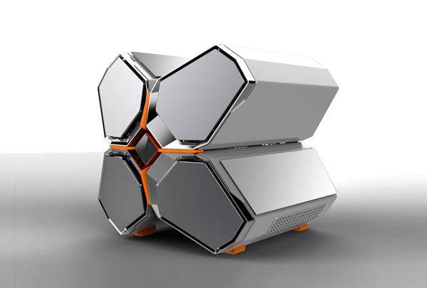 Photo of DeepCool Quadstellar, Una torre de PC con diseño futurista