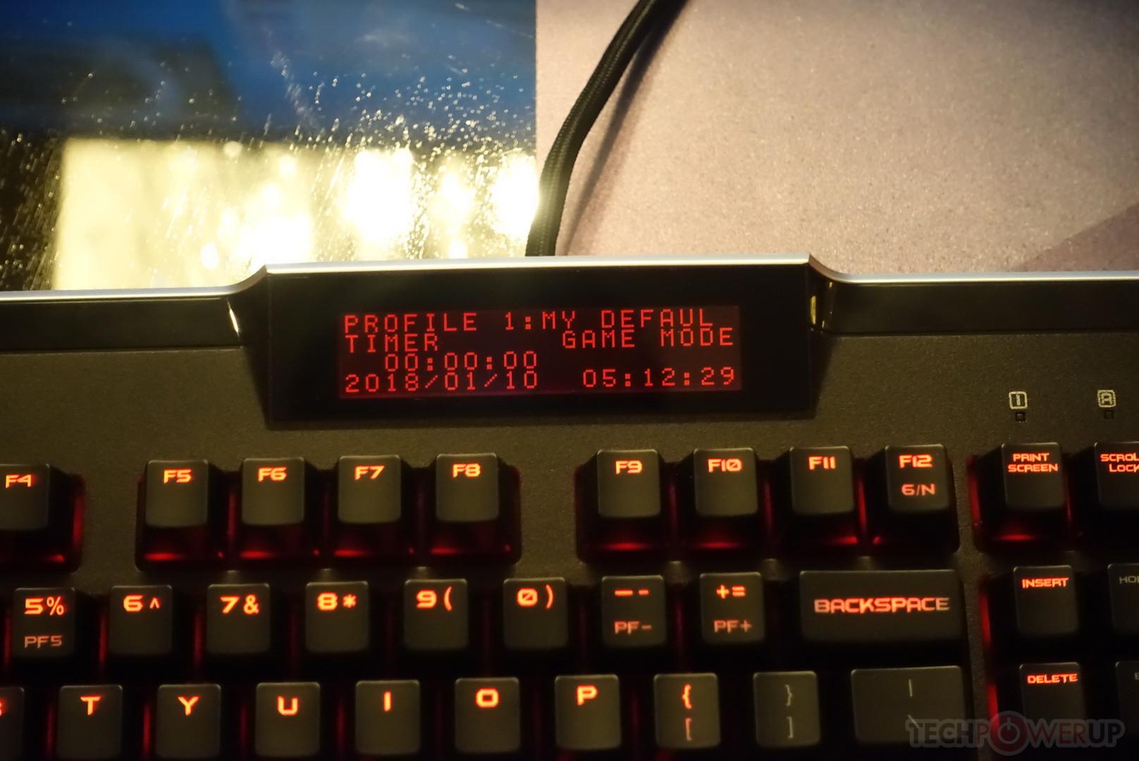 Nuevo teclado mecánico EVGA Z10