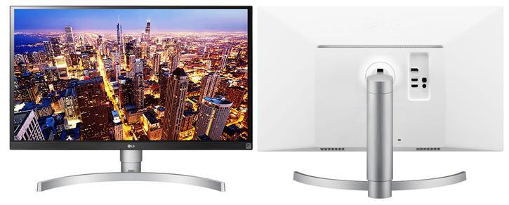 LG lanza el nuevo monitor 27UK650-W de 27 pulgadas con panel HDR y 4K