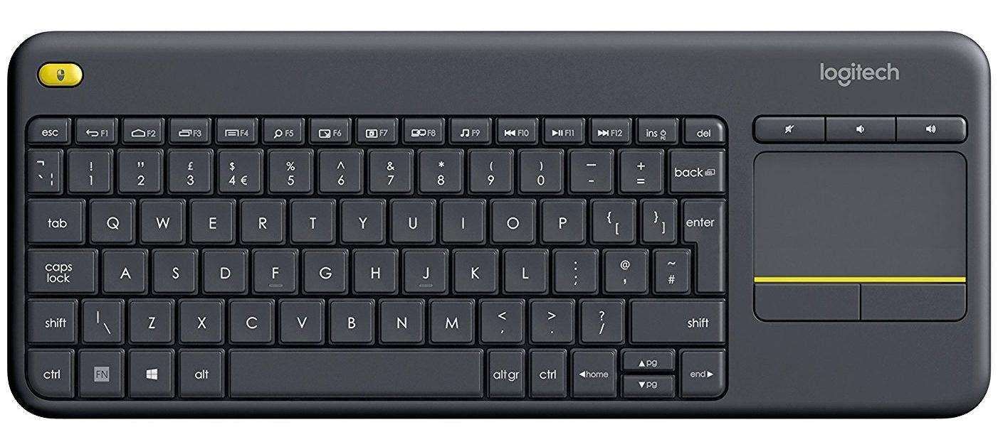 Los mejores teclados para PC Logitech K400 Plus