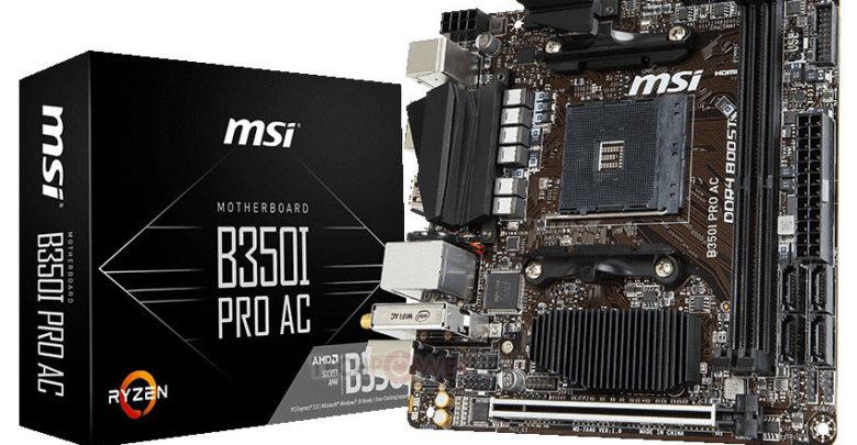 Photo of Anunciada la nueva placa base MSI B350I Pro AC con formato Mini ITX