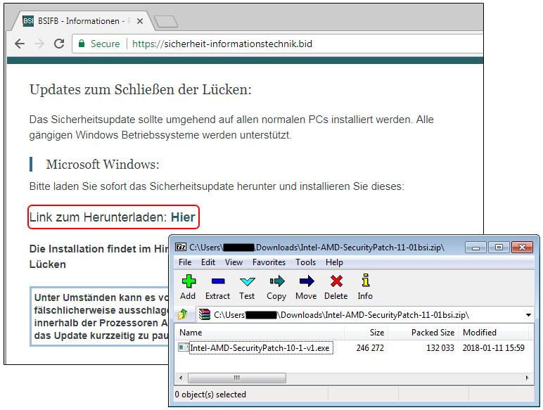 Malwarebytes detecta falsos parches