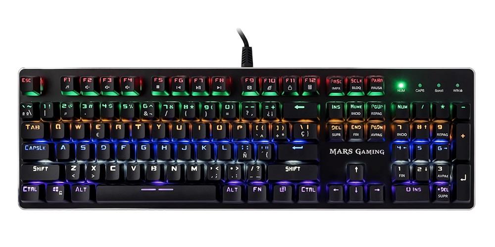 Los mejores teclados para PC Mars Gaming MK4