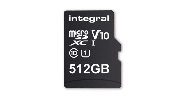Photo of Integral anuncia la primera tarjeta MicroSD de 512 GB de capacidad