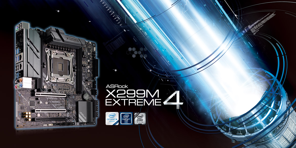 Nueva placa base ASRock X299M Extreme4