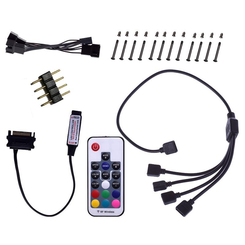 Nuevos ventiladores ID-Cooling DF-12025-RGB-TRIO