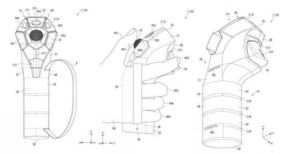 Sony patenta nuevos mandos para PSVR