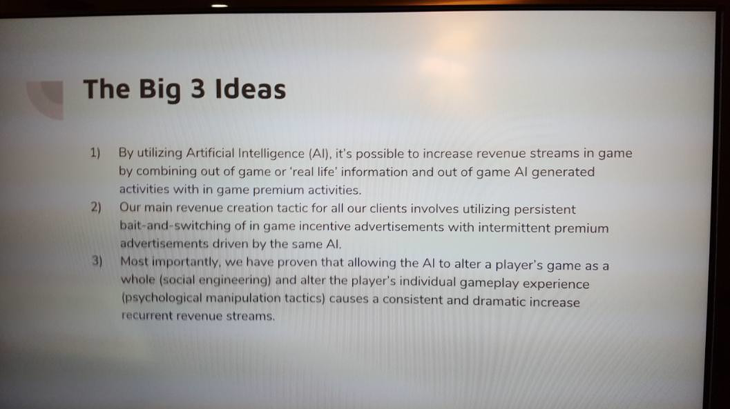 inteligencia artificial para forzar a usar los micropagos