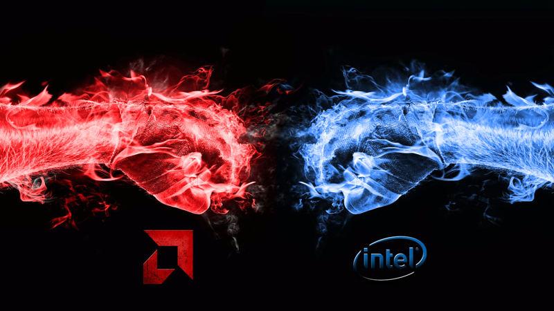 Ryzen 7 1800X vs Core i7 8700K en juegos tras meltdown