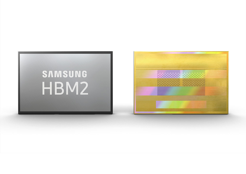 Samsung inicia la producción de HBM2 de segunda generación