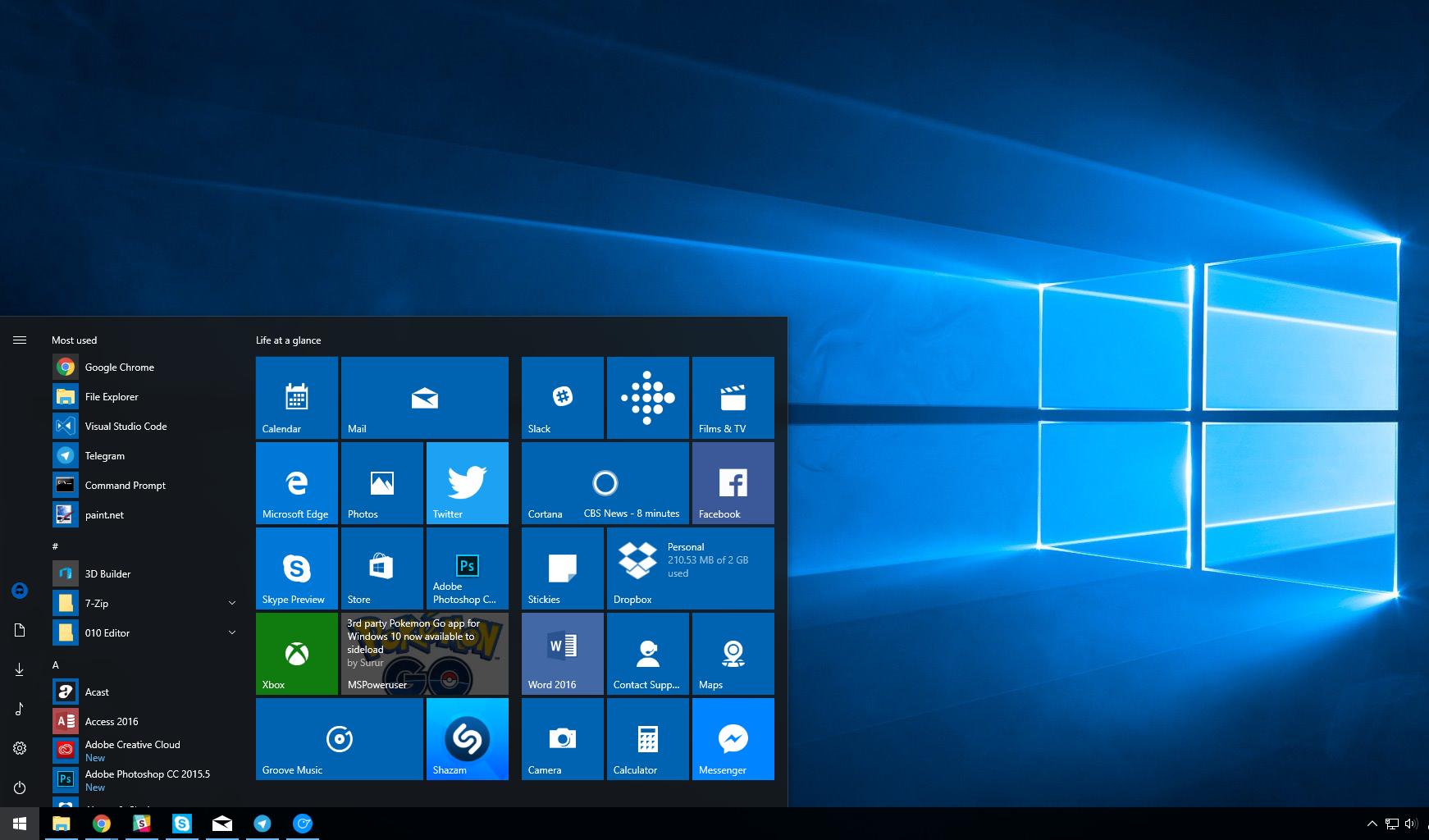 La build Windows 10 17074.1002 llega al anillo rápido con un fix para equipos AMD