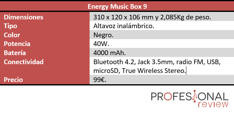 Energy music box 9