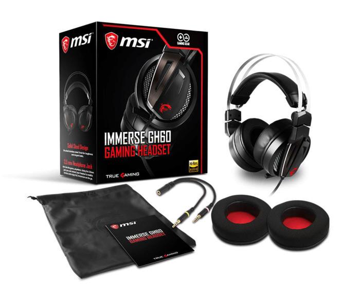 Nuevo teclado MSI Vigor GK40 y headset Immerse GH60