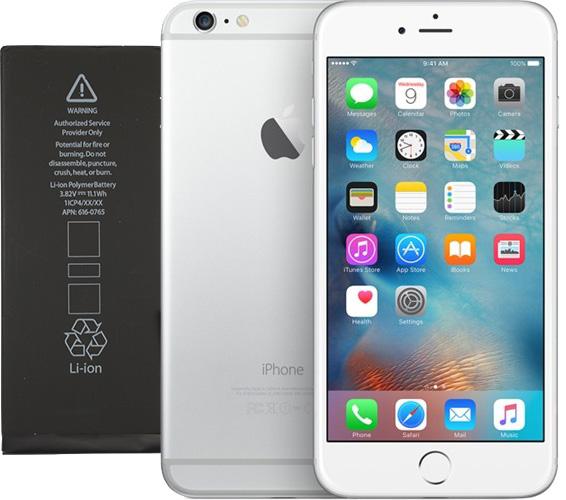 Apple retrasa la sustitución de batería del iPhone 6 Plus hasta marzo o abril