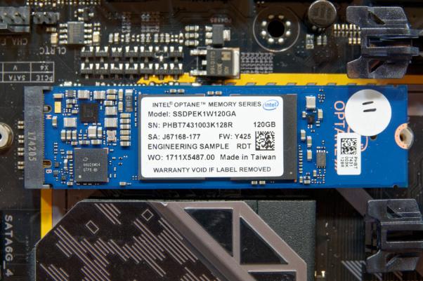 Intel 800p basados en Optane