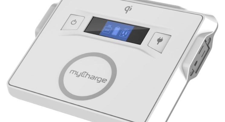 Photo of myCharge presenta una batería de 20.000mAh que lo carga todo – CES 2018