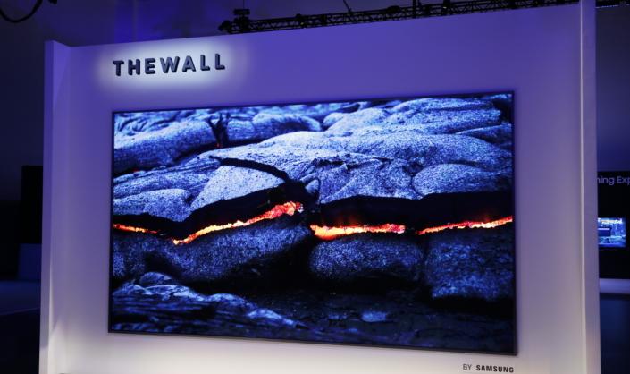 Samsung impresiona con un panel MicroLED de 146 pulgadas