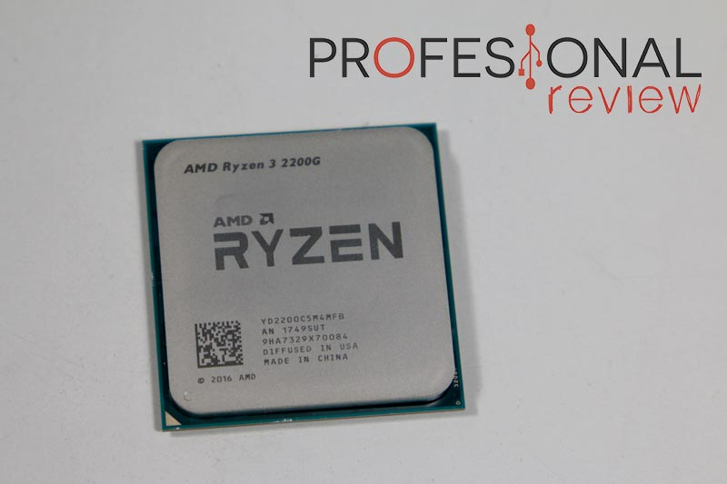 AMD Ryzen 3 2200G analisis
