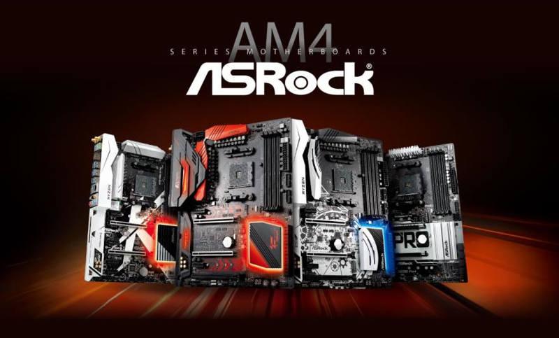 ASRock actualiza sus placas base y AMD crea un distintivo para Raven Ridge