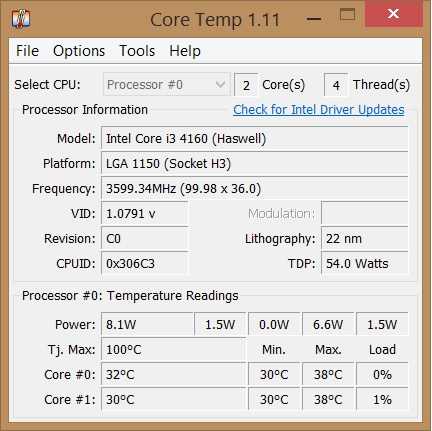 Controla la temperatura del procesador