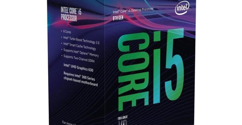 Photo of Core i5-8500, i5-8600 (no K) y Celeron G49xx son listados en Newegg