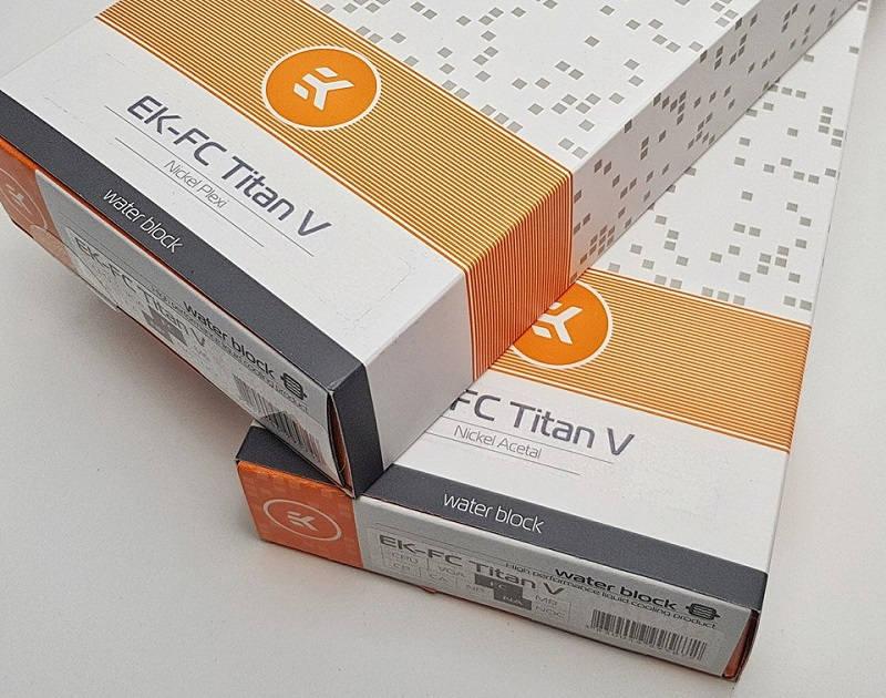 EK tiene un bloque de agua para la GeForce Titan V