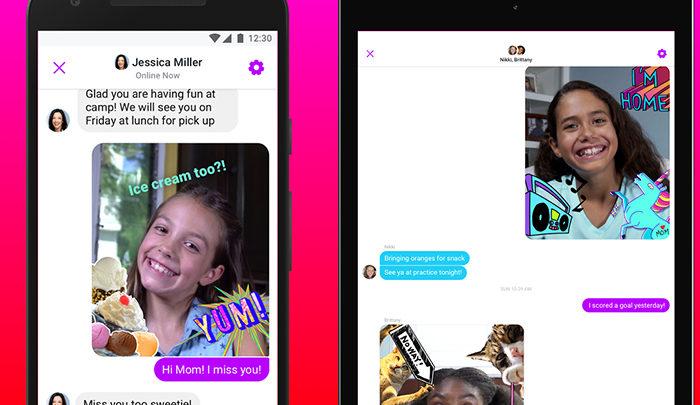 Photo of Un fallo en Facebook Messenger Kids autorizó chats con desconocidos