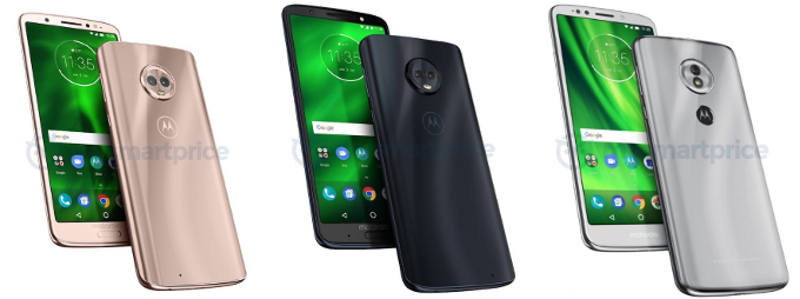 Motorola Moto G6, G6 Plus y G6 Play