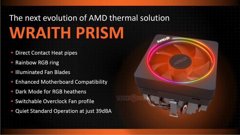 Nuevo disipador AMD Wraith Prism