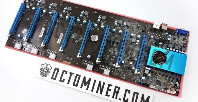 Photo of OCTOMINER B8Plus, Placa base de 8 slots PCIe para la minería
