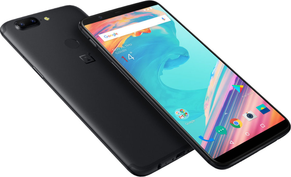 mejores smartphone chinos del 2018 OnePlus 5T
