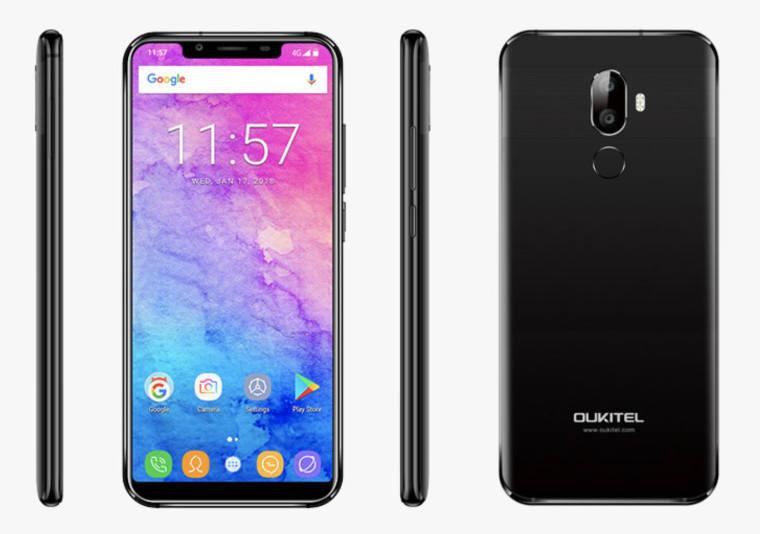 Oukitel U18 con complejo de iPhone X