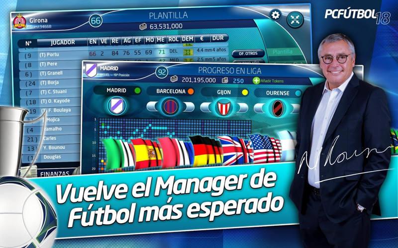 PC Fútbol 18 ya está disponible en la Google Play