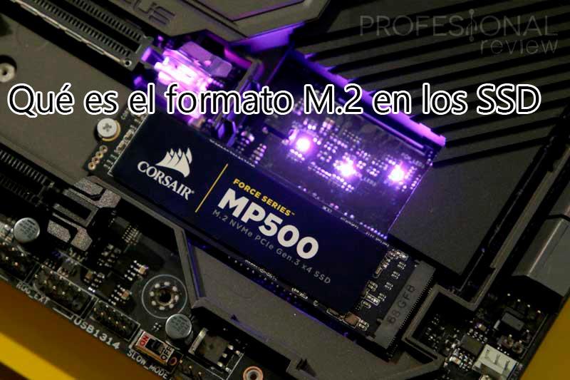 Qué es el formato M.2 en los SSD