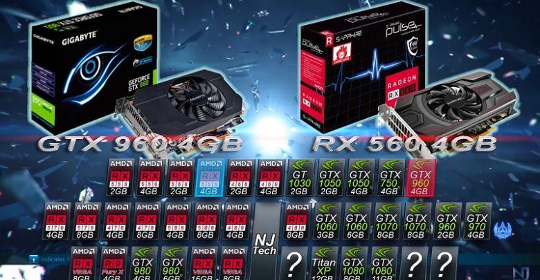 Photo of Radeon RX 560 vs GeForce GTX 960 en juegos actuales