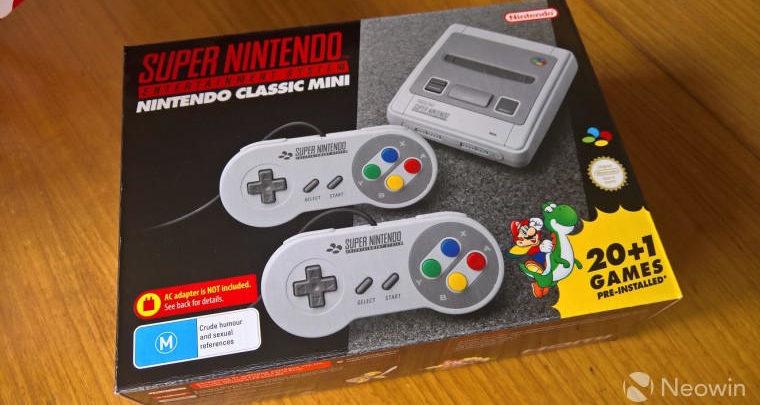 Photo of Nintendo detiene la producción de NES y SNES Classic