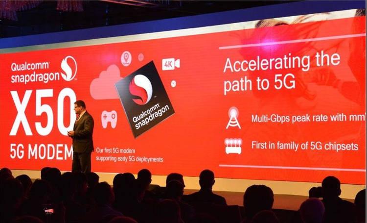 Samsung se une al uso del módem 5G Qualcomm X50 NR