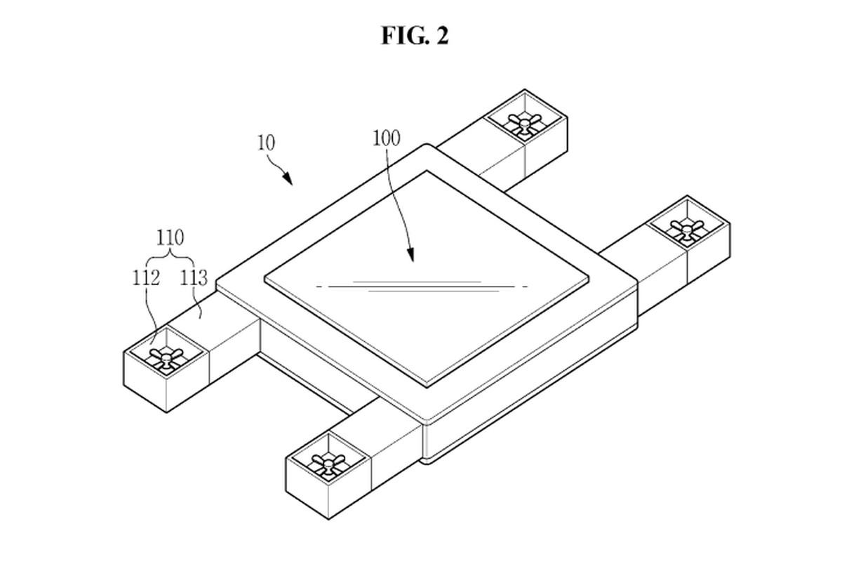 Samsung trabaja en un dron dirigido con la mirada y gestos