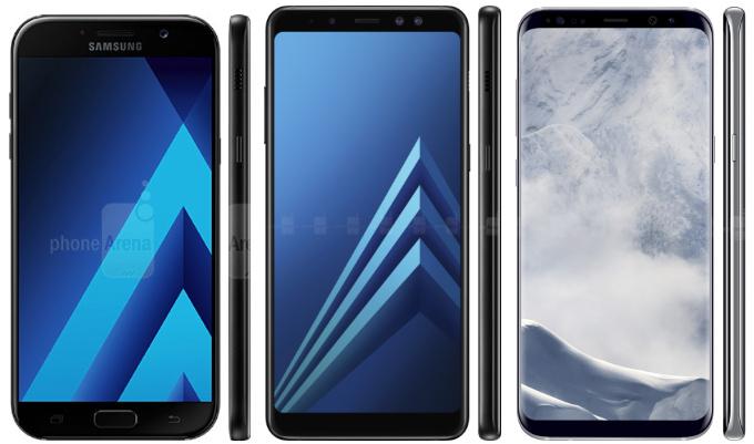Samsung usará pantalla infinita en la gama media