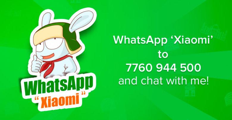 Photo of Xiaomi usa WhatsApp en su servicio de atención al cliente