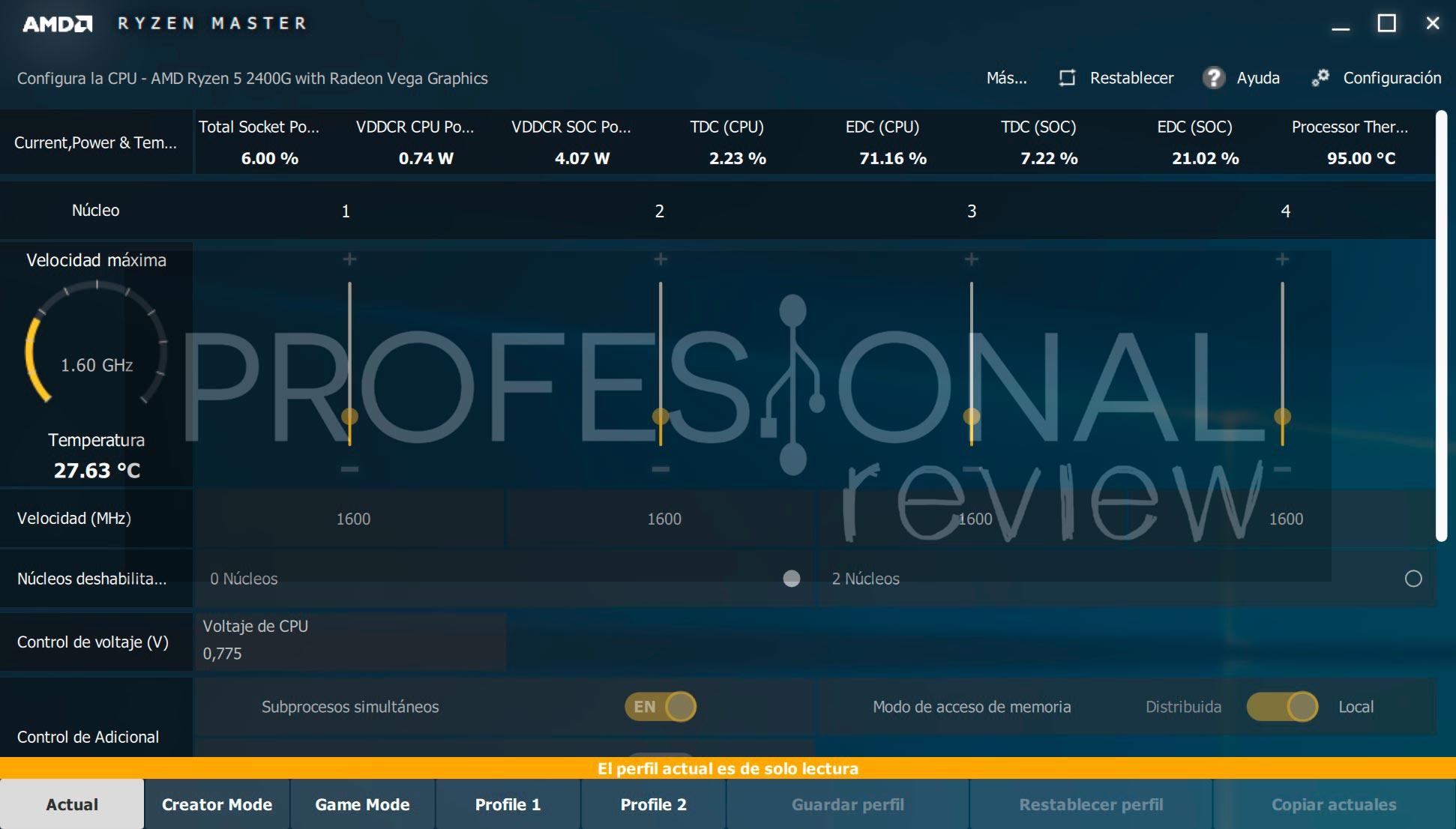AMD Ryzen 3 2200G y AMD Ryzen 5 2400G Review en Español