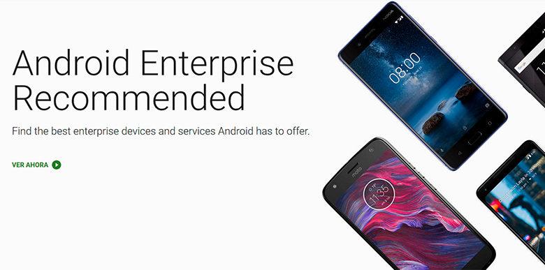 Photo of Google certificará móviles Android para su uso empresarial