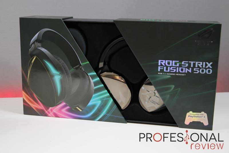 Asus ROG Strix Fusion 500 analisis