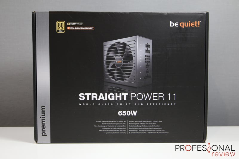 Be Quiet Straight Power 11